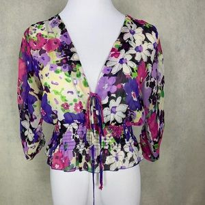 Beautifully feminine blouse by Ambiance Apparel S